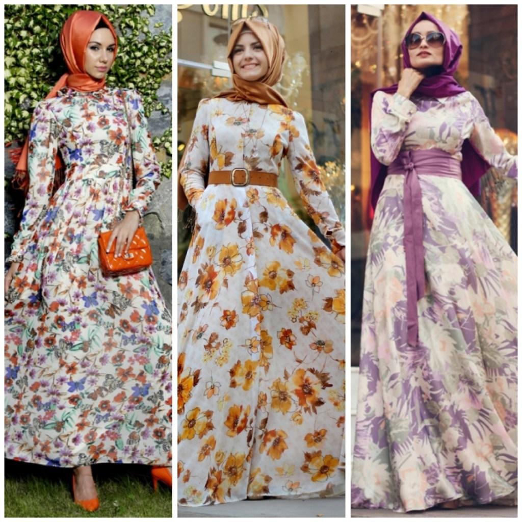 بالصور فساتين شيفون مشجر , تشكيلة لاجمل الفساتين المشجرة 1117 4
