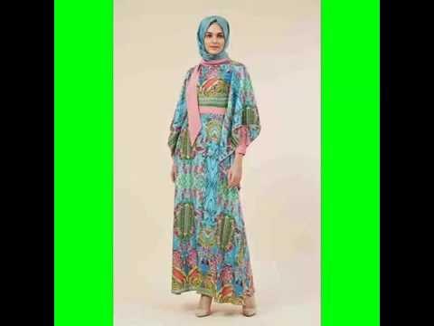 بالصور فساتين شيفون مشجر , تشكيلة لاجمل الفساتين المشجرة 1117 6