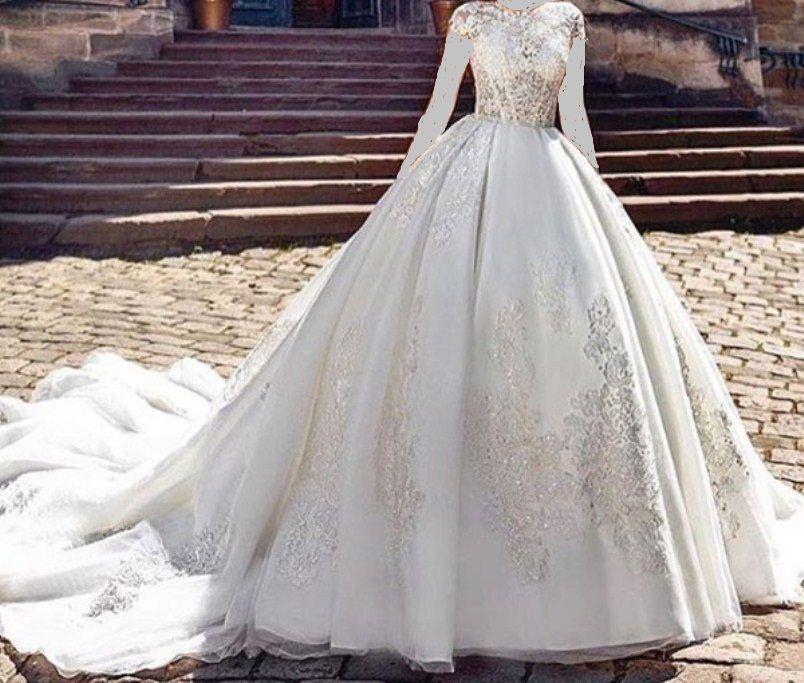 بالصور فساتين زواج , اجمل فستان عروسه 1120 3