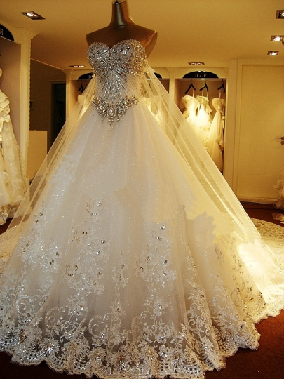 بالصور فساتين زواج , اجمل فستان عروسه