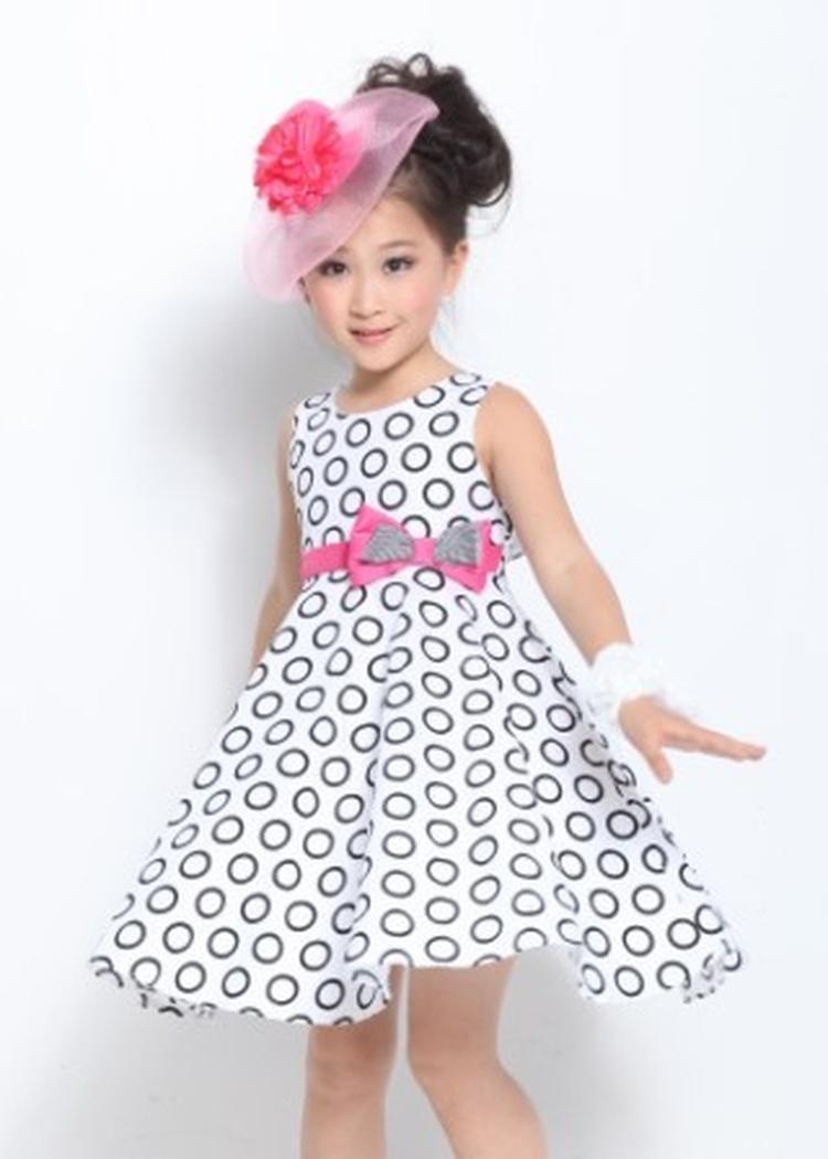 صوره فساتين بنات صغار , اسهل طريقة لعمل فستان لطفلة