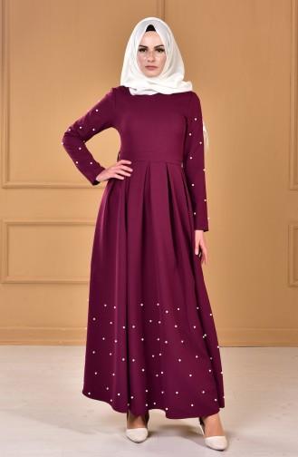 بالصور فساتين سهرة راقية , اروع فستان للسهرات للمحجبات 1139 6