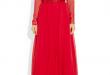 بالصور فساتين سهره كم طويل , تشكيلة من الفساتين الرقيقة 1159 10.jpg 110x75