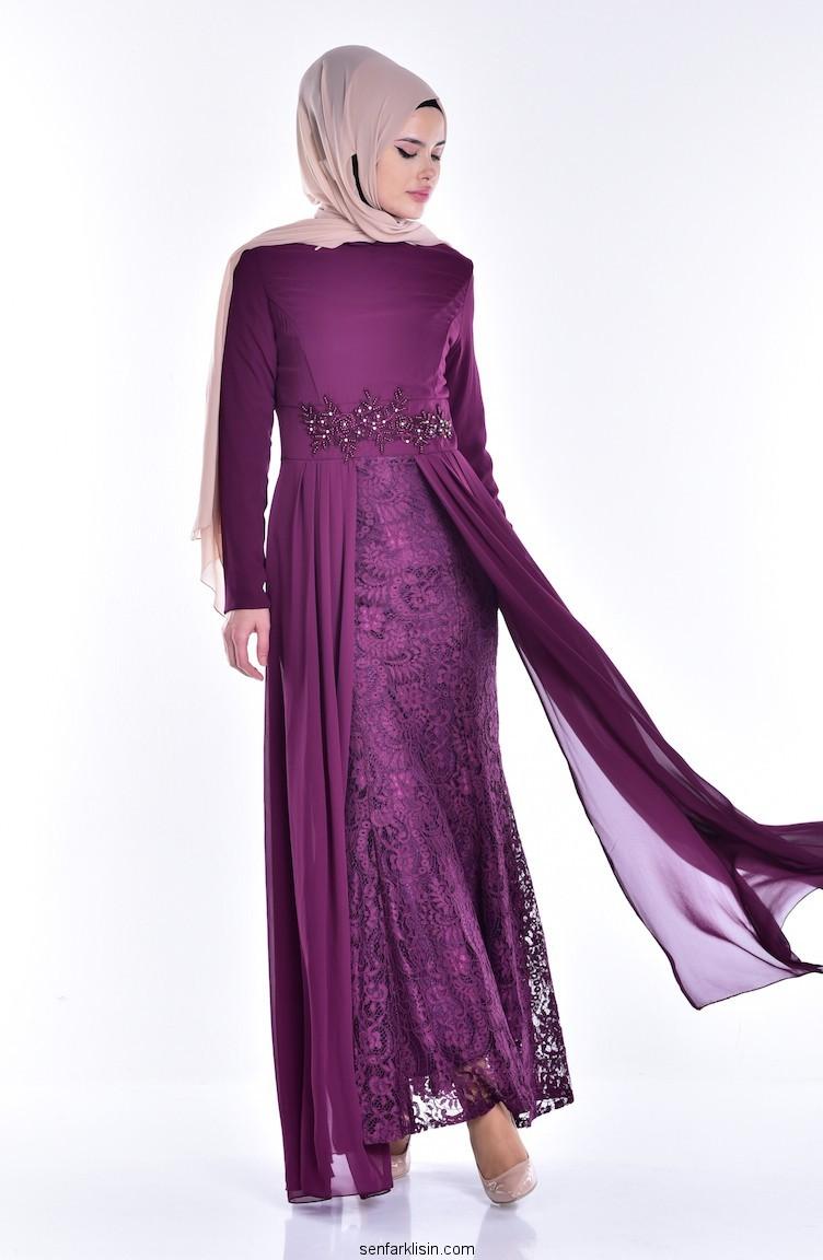 بالصور فساتين سهره كم طويل , تشكيلة من الفساتين الرقيقة 1159 4