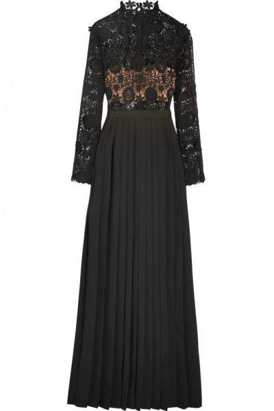 بالصور فساتين سهره كم طويل , تشكيلة من الفساتين الرقيقة 1159 8