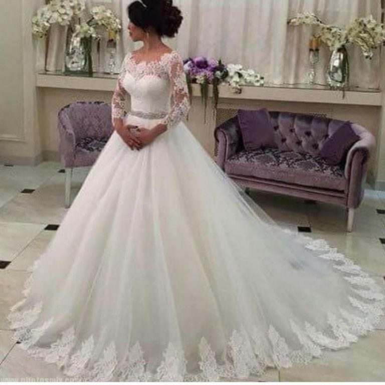 بالصور صور فساتين زفاف , اجمل فستان فرح للعروسة 1197 5