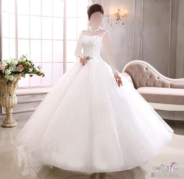 بالصور صور فساتين زفاف , اجمل فستان فرح للعروسة 1197 7