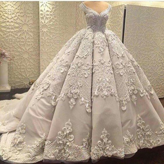 صوره صور فساتين زفاف , اجمل فستان فرح للعروسة