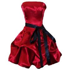 بالصور فساتين حمراء قصيرة , فستان من اللون الاحمر 1218 5