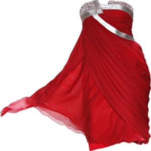 بالصور فساتين حمراء قصيرة , فستان من اللون الاحمر 1218 6
