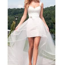 بالصور فساتين زفاف قصيرة , احلي تصاميم فساتين 1220 4