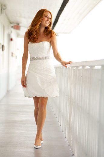 بالصور فساتين زفاف قصيرة , احلي تصاميم فساتين 1220 7