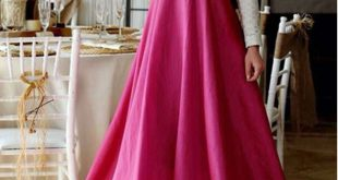 صوره فساتين كلوش , اروع واجمل موديلات فستان للبنات واسع