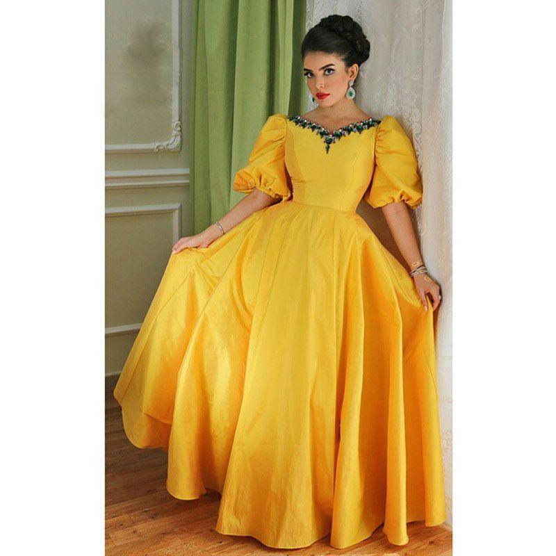 بالصور فساتين كلوش , اروع واجمل موديلات فستان للبنات واسع 1221 1