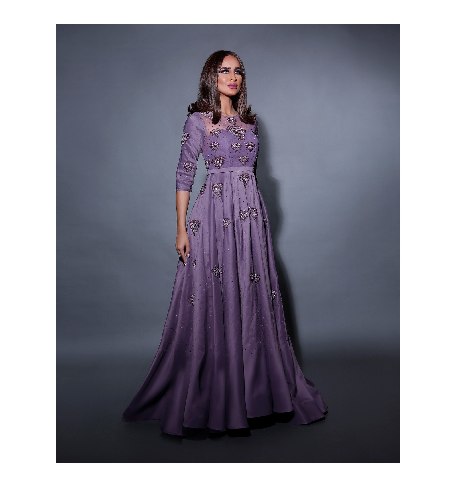 بالصور فساتين كلوش , اروع واجمل موديلات فستان للبنات واسع 1221 2