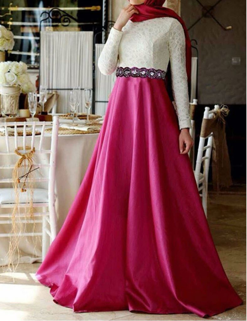 بالصور فساتين كلوش , اروع واجمل موديلات فستان للبنات واسع