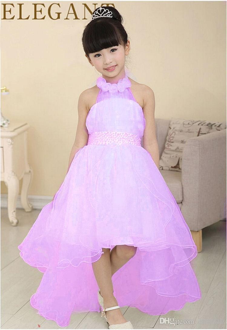 بالصور فساتين اطفال طويله , احدث فستان طويل للااطفال 1222 3
