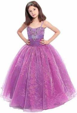 بالصور فساتين اطفال طويله , احدث فستان طويل للااطفال 1222 4