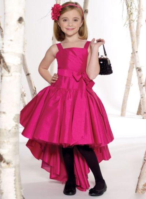 بالصور فساتين اطفال طويله , احدث فستان طويل للااطفال 1222 5