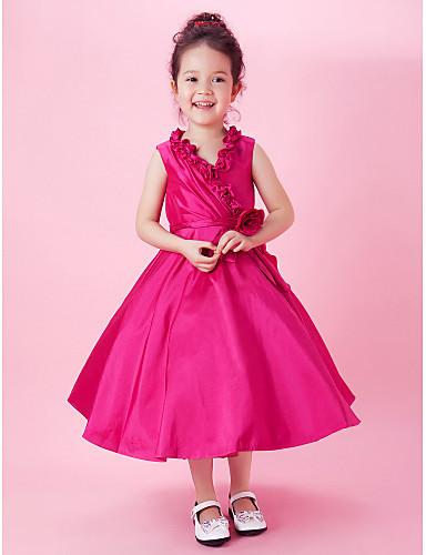 بالصور فساتين اطفال طويله , احدث فستان طويل للااطفال 1222 6