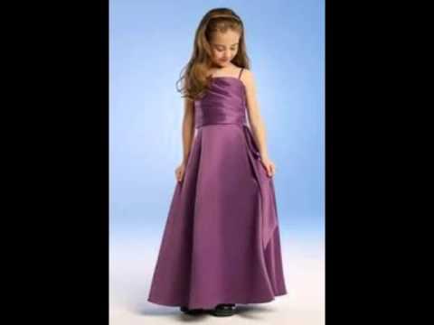 بالصور فساتين اطفال طويله , احدث فستان طويل للااطفال 1222 7