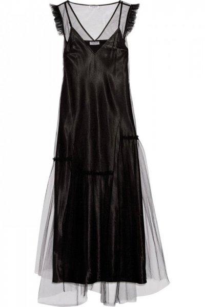بالصور فساتين سهرة شيفون , كولجشين جامد لفستان شيفون 1223 7