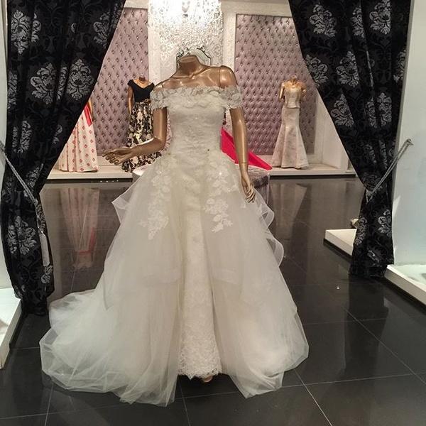 بالصور بيع فساتين , فستان للبيع 1236 3