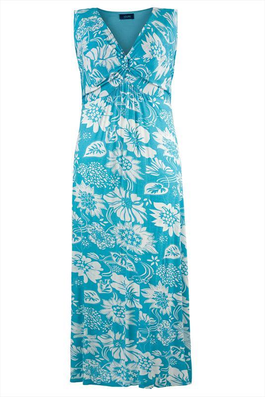 بالصور فساتين صيفية طويلة , فستان صيفى خفيف 1242 10