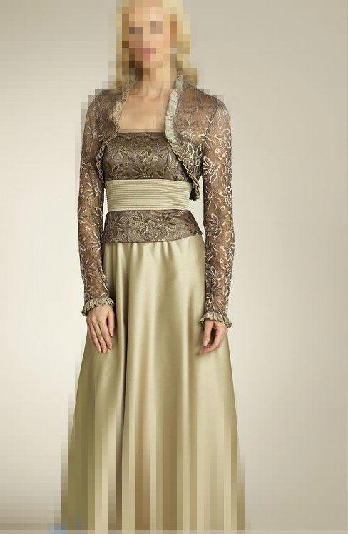 بالصور فساتين هاديه , تشكيلة من الفساتين الرقيقة للمحجبات 1250 7