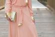 بالصور فساتين هاديه , تشكيلة من الفساتين الرقيقة للمحجبات 1250 9.jpg 110x75