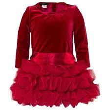 بالصور فساتين اطفال قطيفه , اجمل فستان قطيفه اطفال 1253 1