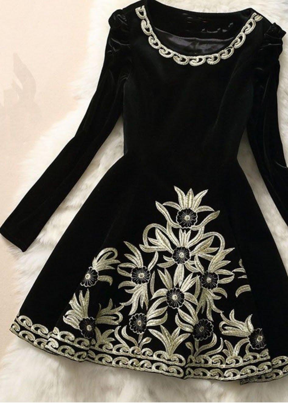 بالصور فساتين اطفال قطيفه , اجمل فستان قطيفه اطفال 1253 3