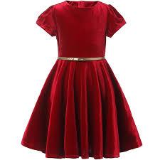 بالصور فساتين اطفال قطيفه , اجمل فستان قطيفه اطفال 1253 4