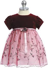 بالصور فساتين اطفال قطيفه , اجمل فستان قطيفه اطفال 1253 5