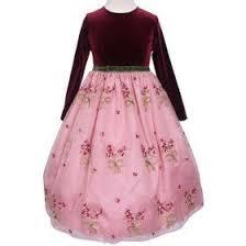 بالصور فساتين اطفال قطيفه , اجمل فستان قطيفه اطفال 1253 6