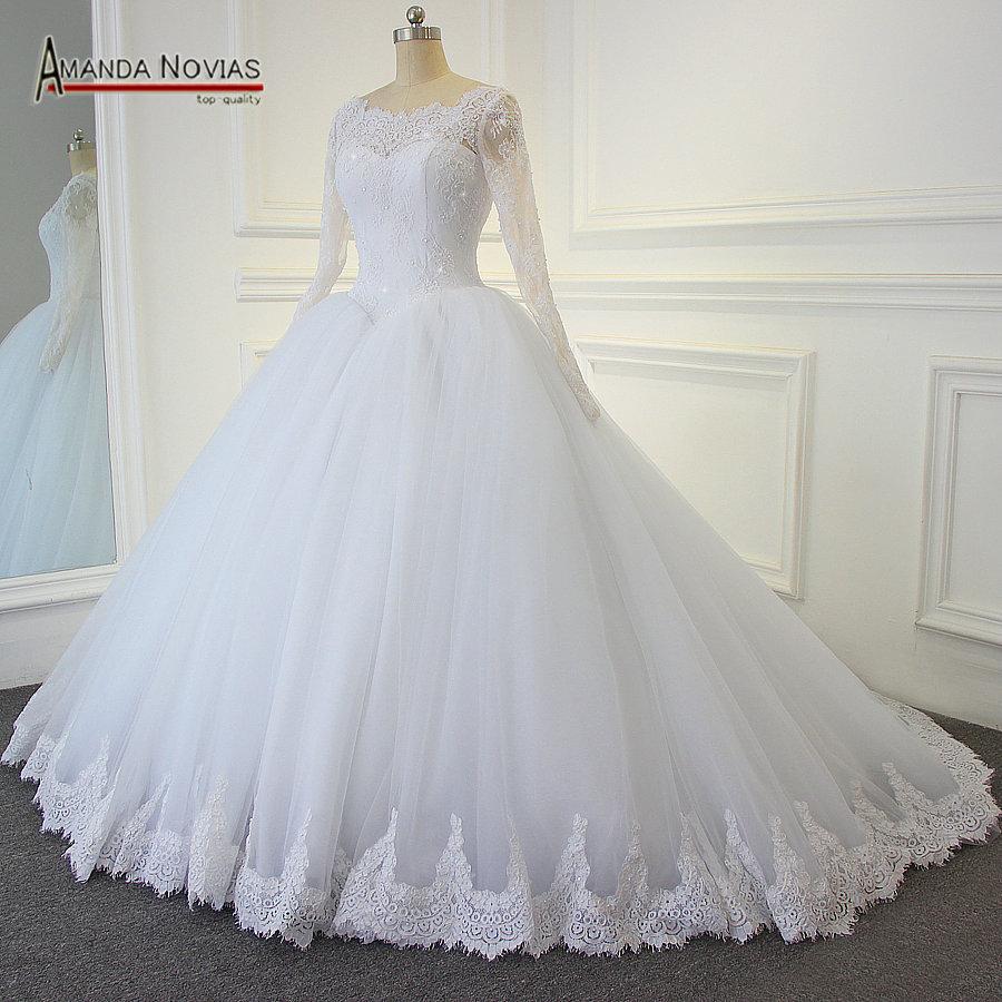 بالصور فساتين زفاف محجبات تركية , فستان رائع لفرحه العمر 1259 1