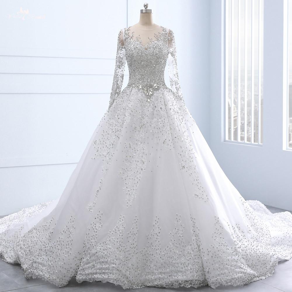بالصور فساتين زفاف محجبات تركية , فستان رائع لفرحه العمر 1259 4