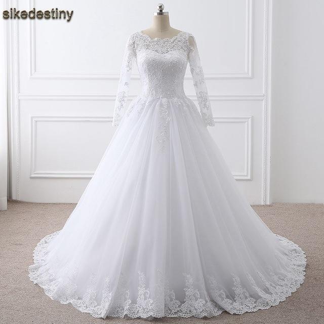 بالصور فساتين زفاف محجبات تركية , فستان رائع لفرحه العمر 1259 6