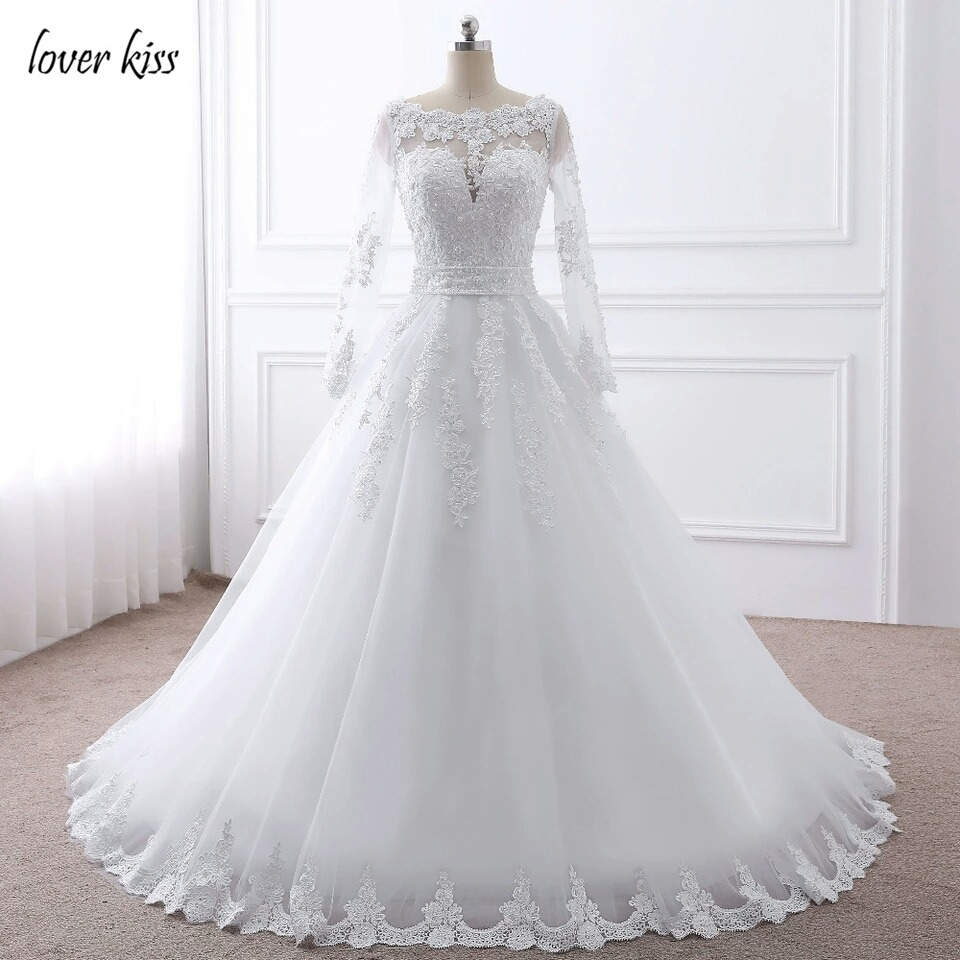 بالصور فساتين زفاف محجبات تركية , فستان رائع لفرحه العمر 1259 7