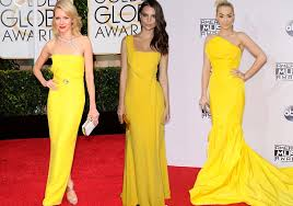 بالصور فساتين باللون الاصفر , احلي فساتين صفراء 1265 8