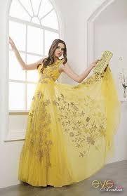 بالصور فساتين باللون الاصفر , احلي فساتين صفراء 1265