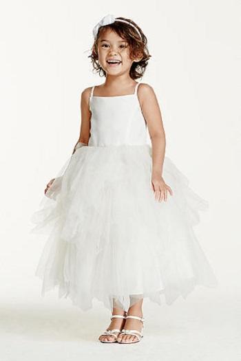 بالصور فساتين اعراس للاطفال , فستان جميل للزفاف 1268 2