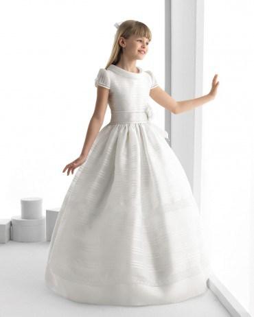 بالصور فساتين اعراس للاطفال , فستان جميل للزفاف 1268 3