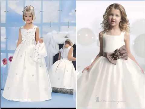 بالصور فساتين اعراس للاطفال , فستان جميل للزفاف 1268 6