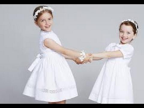بالصور فساتين اعراس للاطفال , فستان جميل للزفاف 1268 7