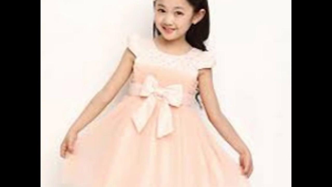 بالصور فساتين اعراس للاطفال , فستان جميل للزفاف 1268 8