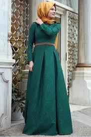 صورة فساتين ناعمه طويله , اروع فستان رقيق للمحجبات