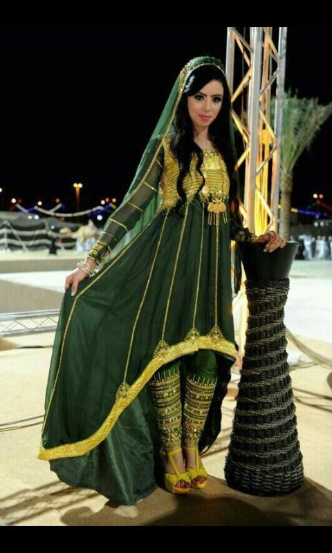 صوره ازياء عمانية مطورة , موديلات لملابس تقليدية تم تطويرها