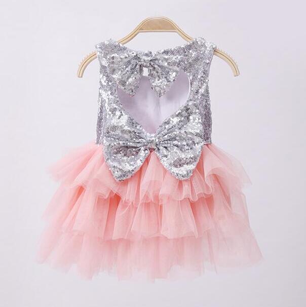 بالصور فساتين اطفال قصيره منفوشه , كولكشن لفستان طفلة بالتل المنفوش 1288 5