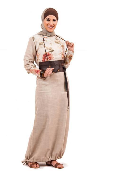 بالصور ملابس محجبات كاجوال للبدينات , ازياء للحجاب روعه 1289 1
